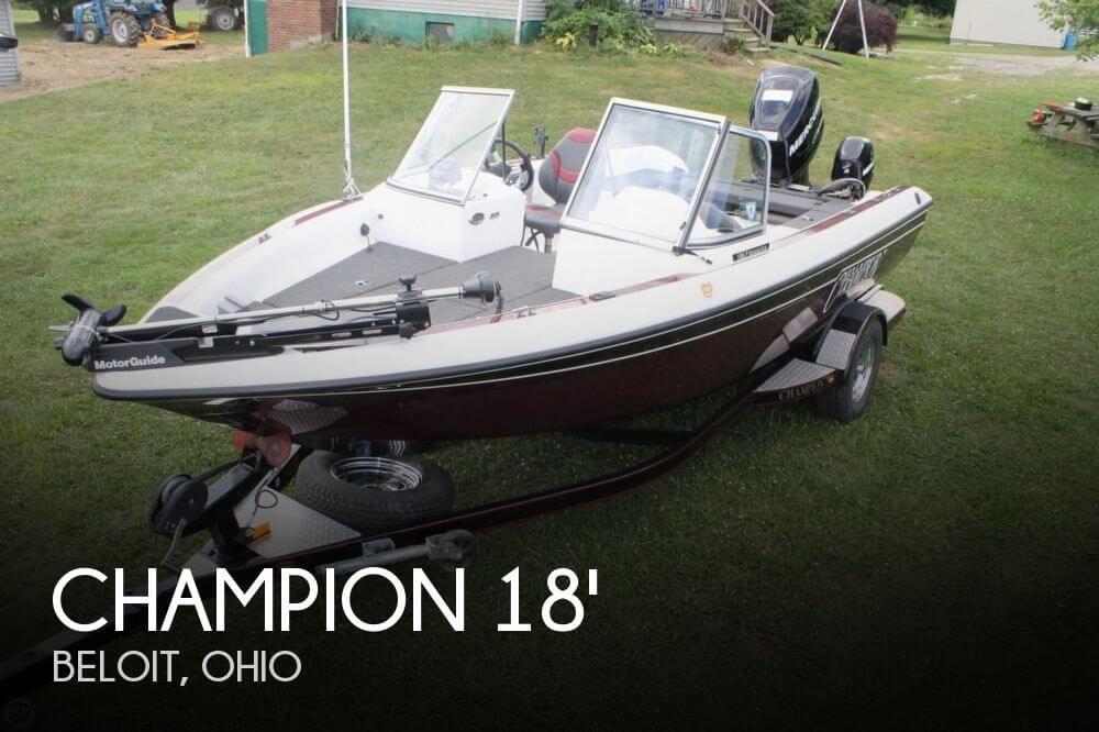 2009 Champion 186 Fish Hunter - Photo #1