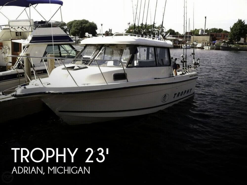 For Sale Used 2001 Trophy 2359 Hard Top In Adrian Michigan Boats