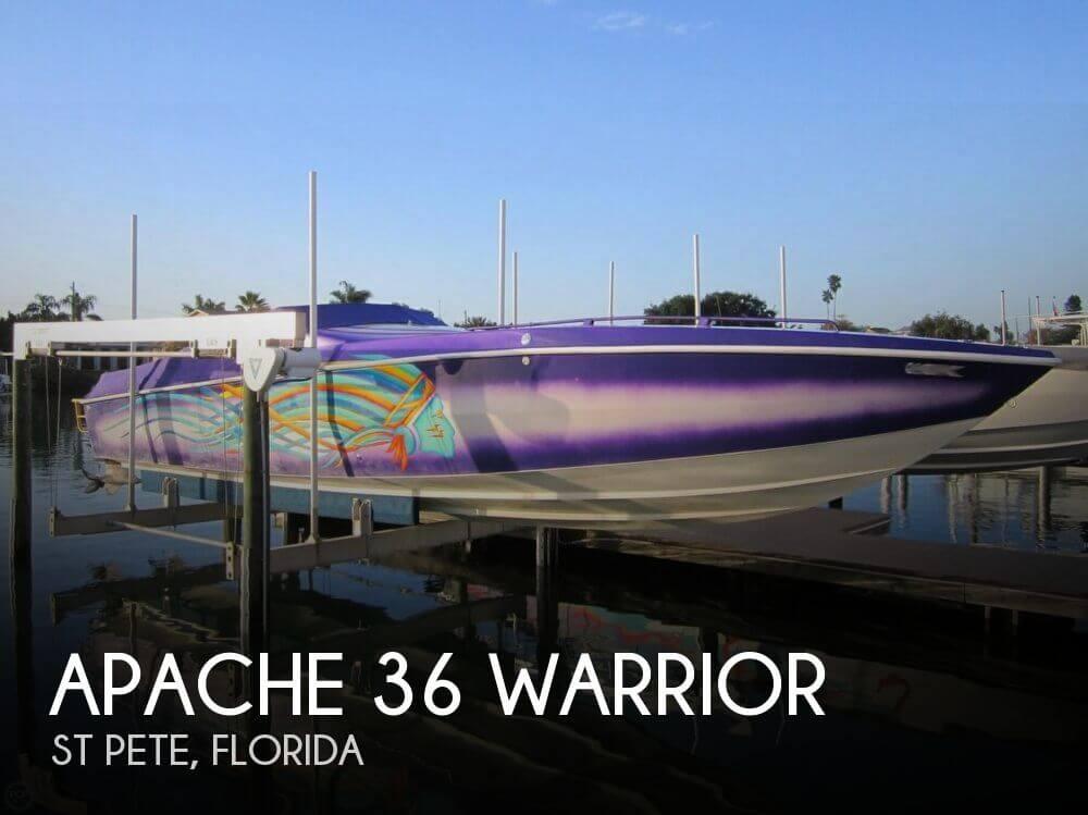 1995 Apache Powerboats 36 Warrior - Photo #1