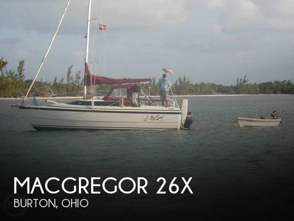 1998 MacGregor 26X - Photo #1