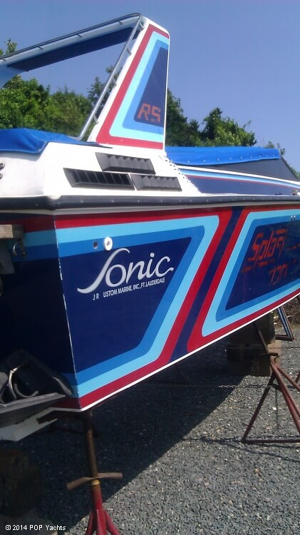 1984 Sonic boat for sale, model of the boat is 33 RS & Image # 10 of 40