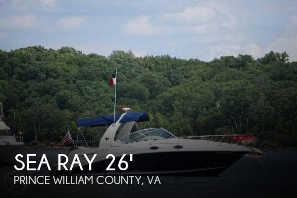 2008 SEA RAY 260 SUNDANCER for sale