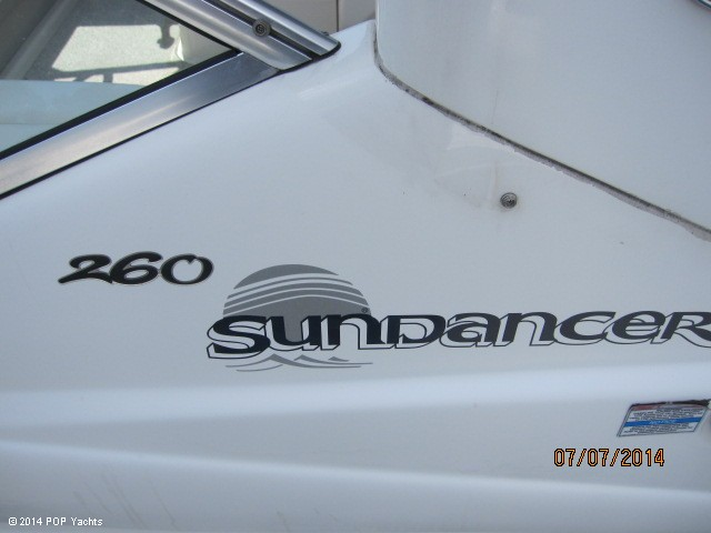 2008 Sea Ray 260 Sundancer - Photo #22