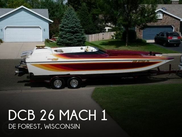 For sale used 1999 dcb 26 mach 1 in de forest wisconsin for Used outboard motors for sale wisconsin