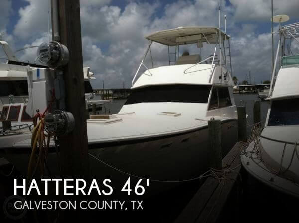 Used HATTERAS Boats For Sale by owner | 1980 Hatteras 46
