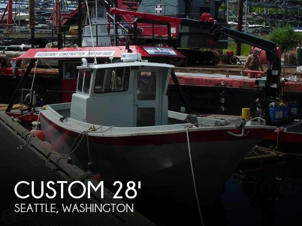 Sold custom 28 fishing crabbing utility boat boat in for Crab fishing boats for sale