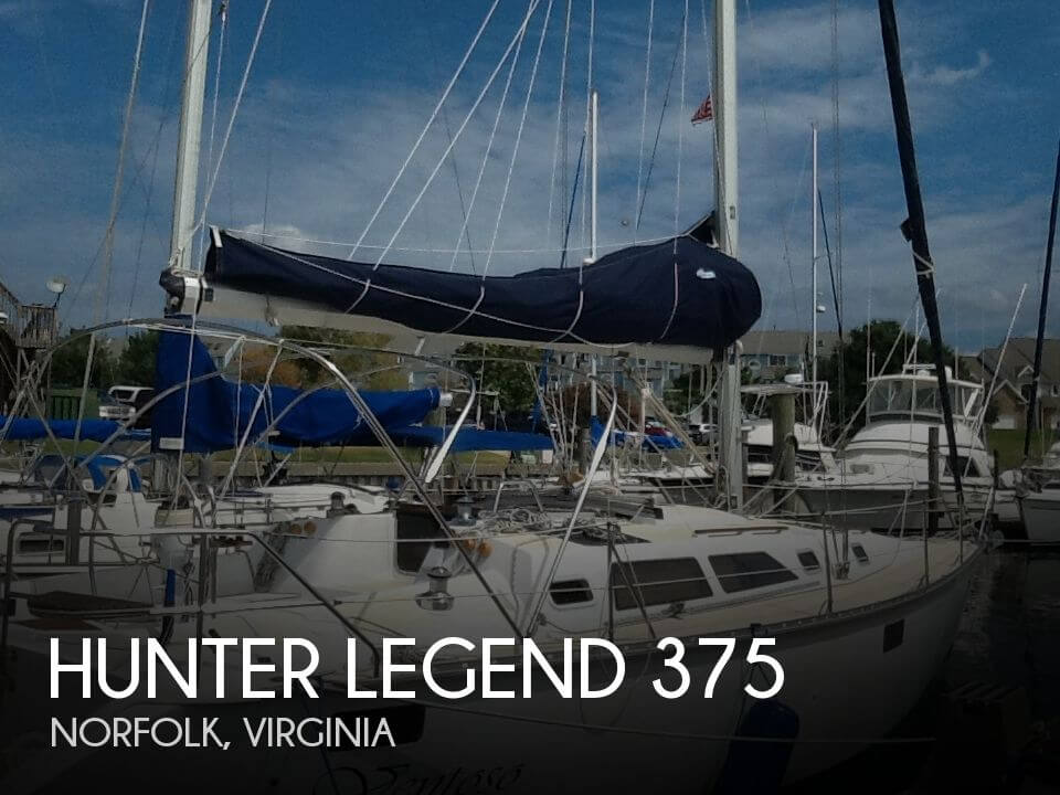 1994 Hunter Legend 375 - Photo #1