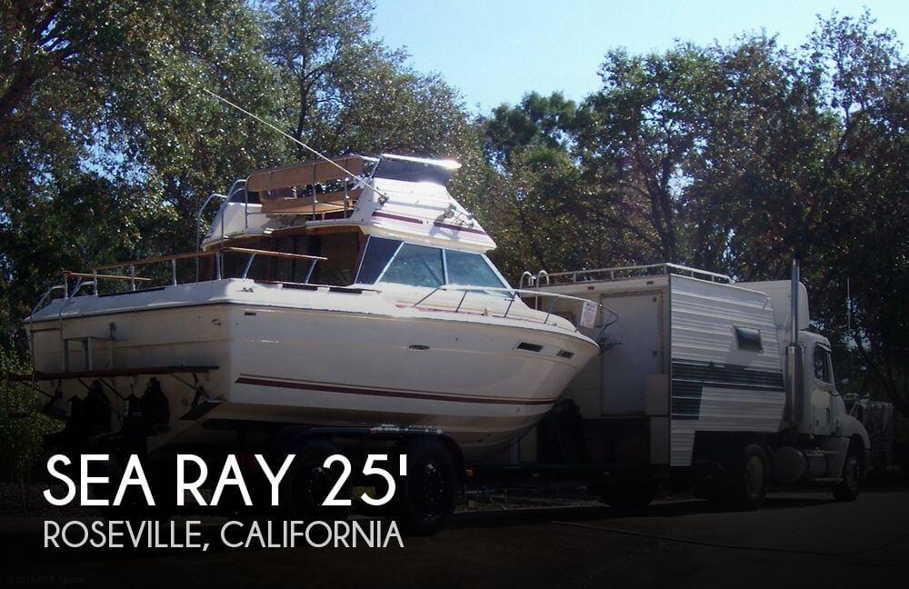 For Sale Used 1980 Sea Ray 270 Sedan Bridge Sf In