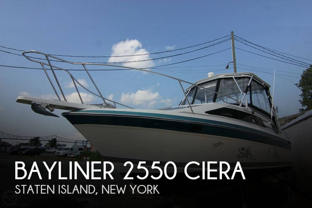 Canceled bayliner 2550 ciera boat in staten island ny for Staten island fishing