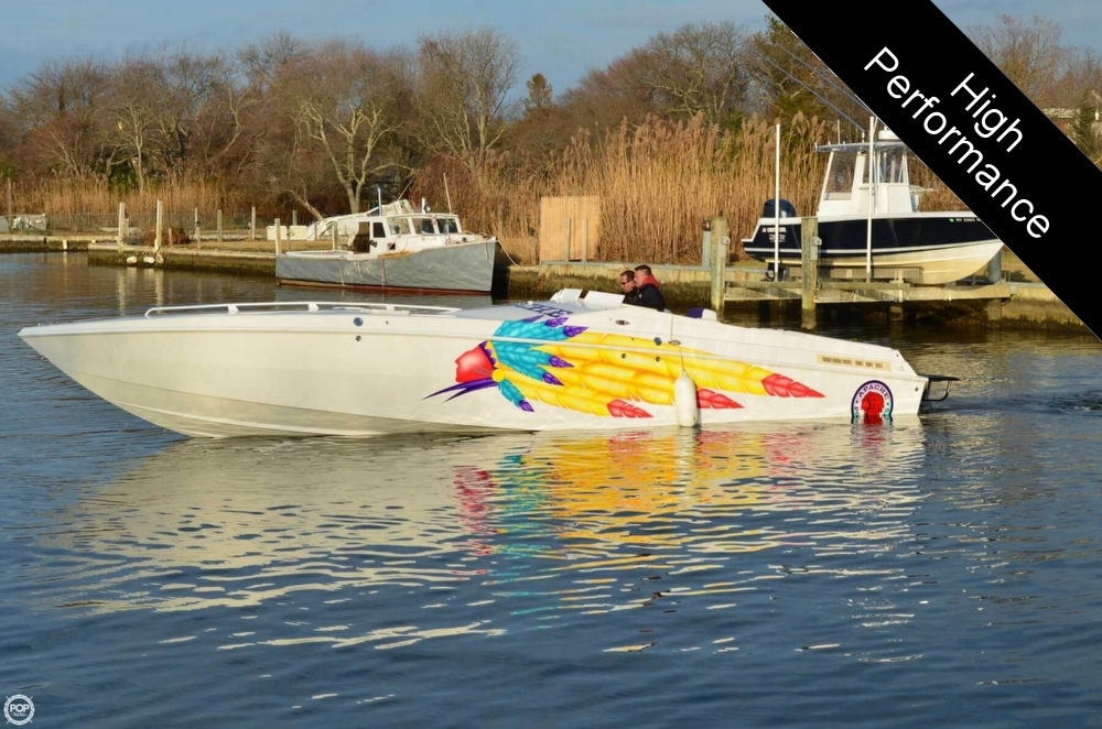 1998 Apache Powerboats 36 Warrior - Photo #4