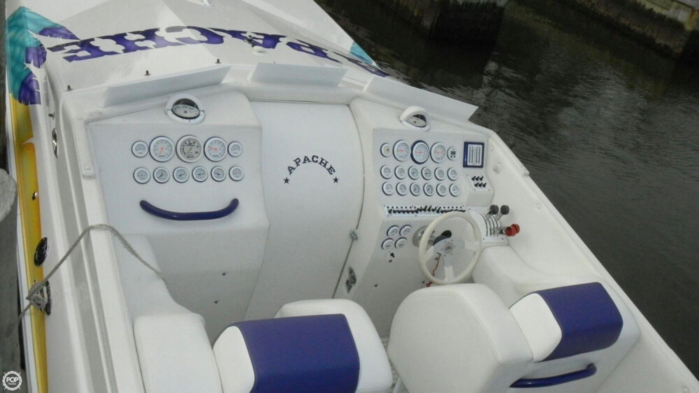 1998 Apache Powerboats 36 Warrior - Photo #7