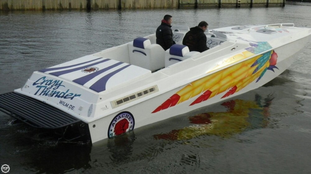 1998 Apache Powerboats 36 Warrior - Photo #8