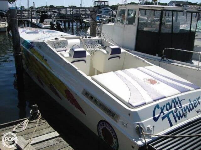 1998 Apache Powerboats 36 Warrior - Photo #3