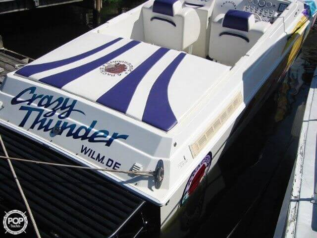 1998 Apache Powerboats 36 Warrior - Photo #20