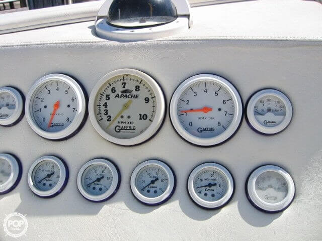 1998 Apache Powerboats 36 Warrior - Photo #30