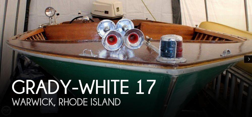 Grady White 17 Boat For Sale In Warwick RI 11500