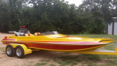 Liberator 21 Drag Boat, 21', for sale - $21,500