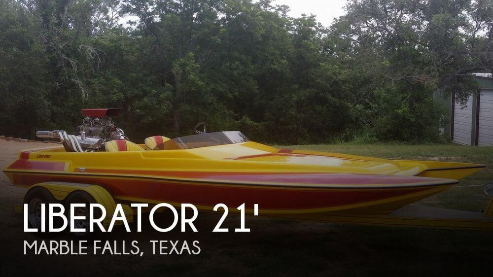 1994 Liberator 21 Drag Boat - Photo #1