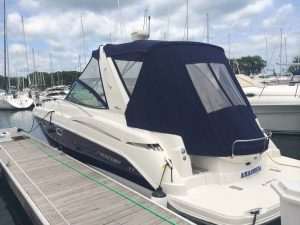 2007 Monterey boat for sale, model of the boat is 330 Sport Yacht & Image # 2 of 41