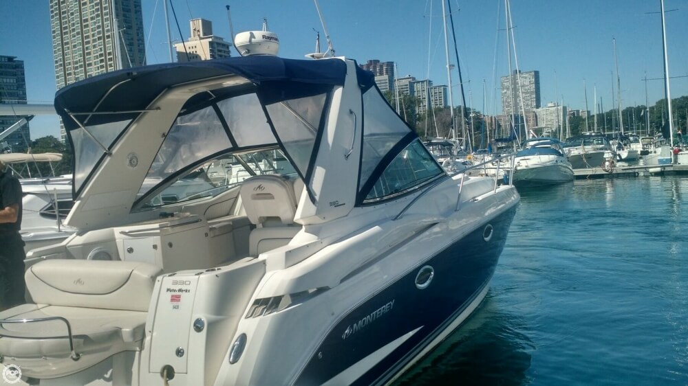 2007 Monterey boat for sale, model of the boat is 330 Sport Yacht & Image # 11 of 41