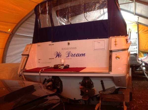 1993 Four Winns boat for sale, model of the boat is 285 Express & Image # 5 of 29