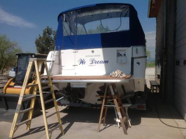 1993 Four Winns boat for sale, model of the boat is 285 Express & Image # 6 of 29