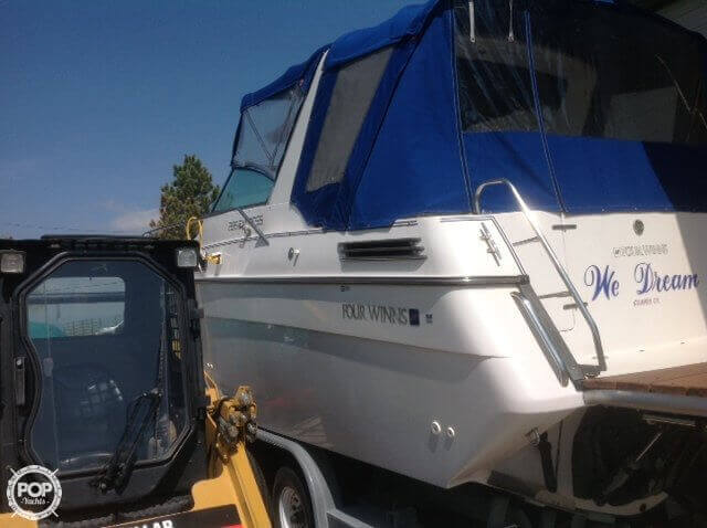 1993 Four Winns boat for sale, model of the boat is 285 Express & Image # 11 of 29