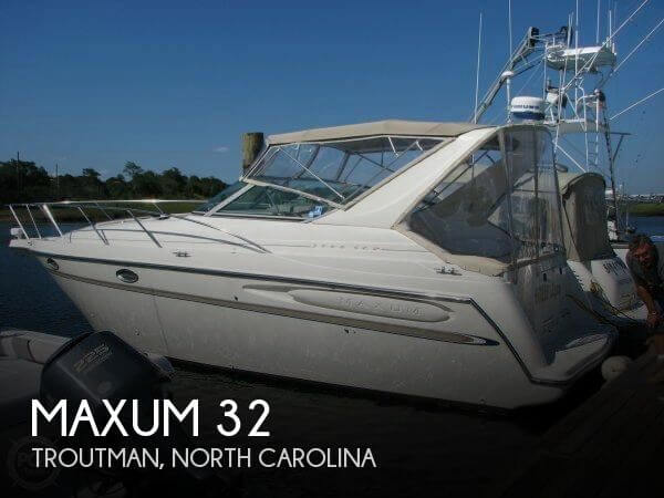 Used Maxum Boats For Sale in North Carolina by owner | 2000 Maxum 32