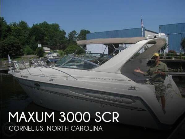 2000 Maxum 3000 SCR - Photo #1