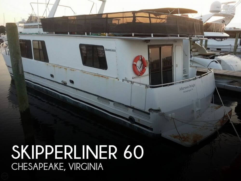 Used Boats For Sale in Virginia by owner | 1997 Skipperliner 60
