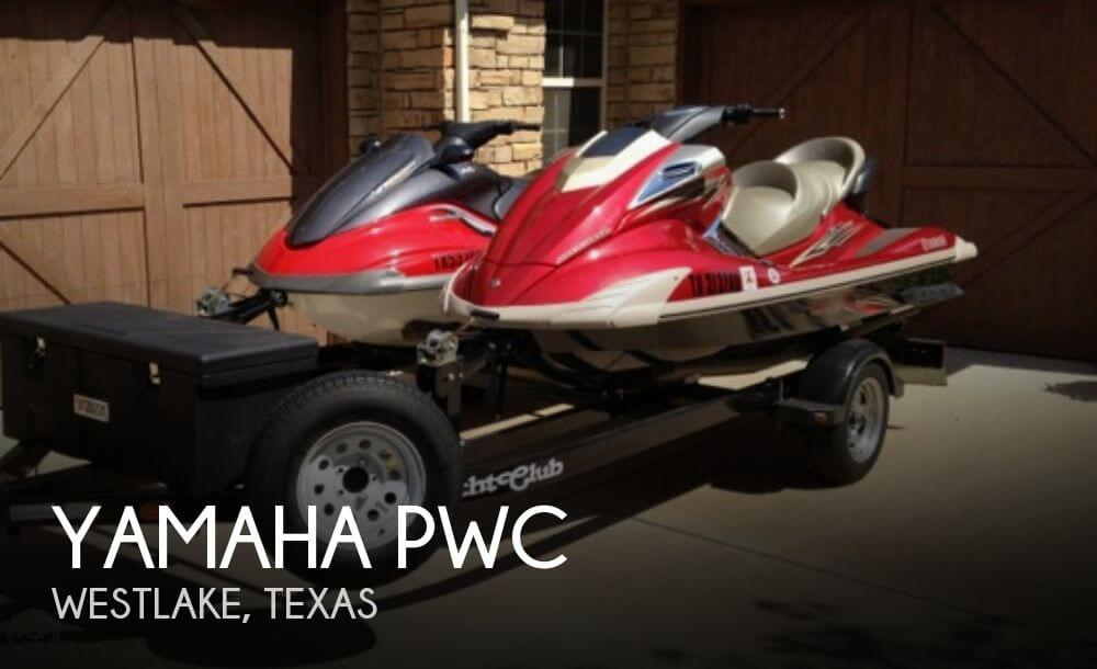 2008 YAMAHA FX CRUISER (2)   2008 & 2004 JET SKIS for sale