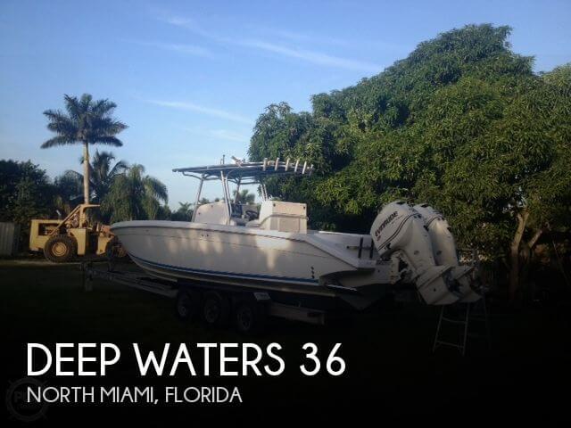 2009 Deep Waters 36 - Photo #1