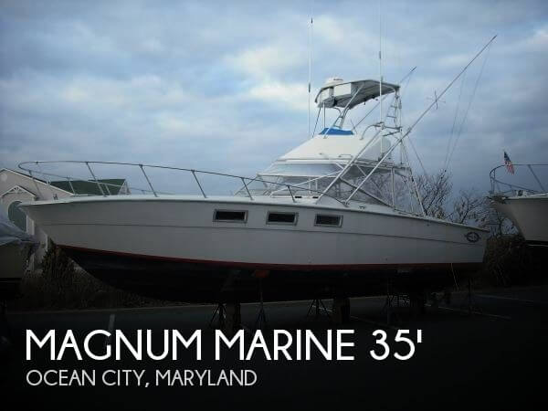1967 Magnum Marine 35 Maltese - Photo #1