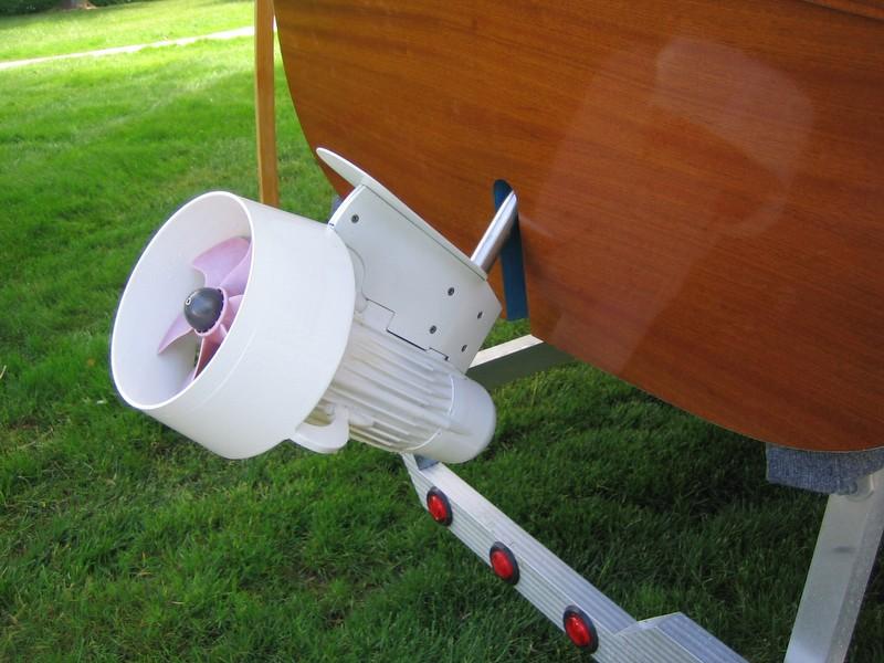 2012 Custom Built Harmony 25 Electric Launch - Photo #10