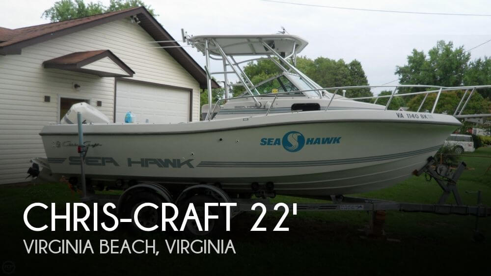 Chris craft 21 seahawk boat for sale in virginia beach va for Fishing boats for sale in va