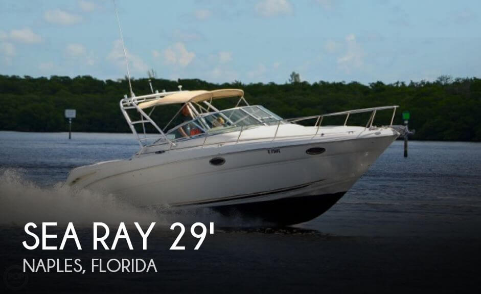 Used Sea Ray 29 Boats For Sale by owner | 2003 Sea Ray 29