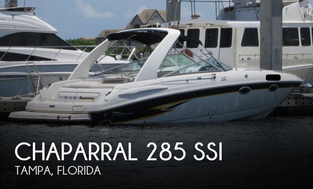 For Sale Used 2003 Chaparral 285 Ssi In Tampa Florida