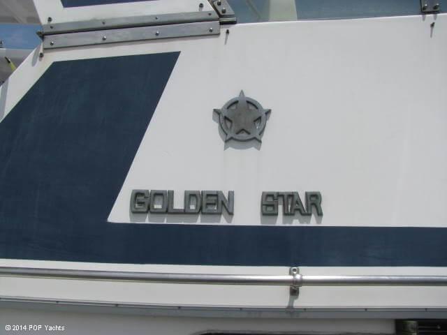 1987 Golden Star 35 Sundeck - Photo #17
