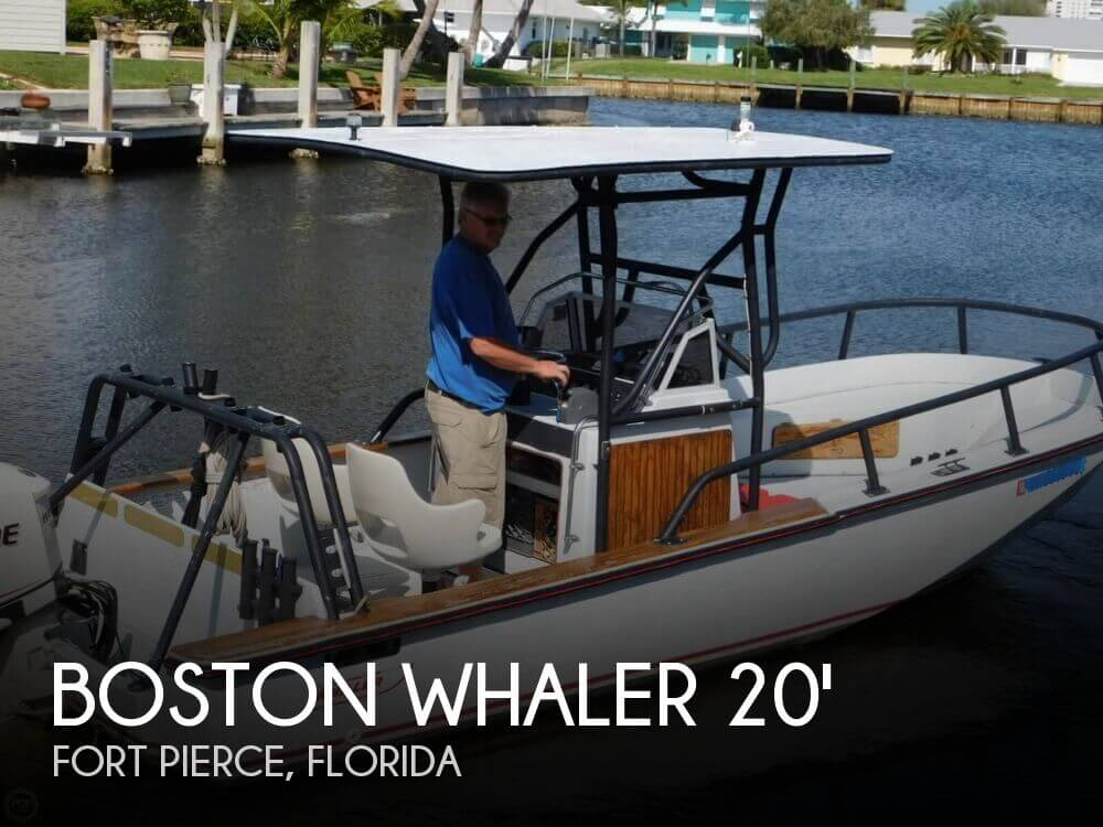 1984 Boston Whaler 20 Outrage - Photo #1