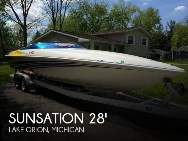 2001 SUNSATION 288 INTIMIDATOR for sale