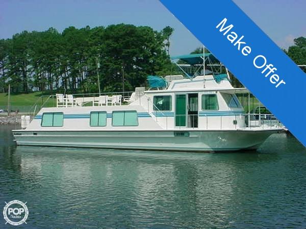 1990 Harbor Master 52 Widebody Houseboat - Photo #2