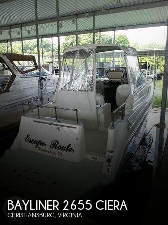 1997 BAYLINER 2655 CIERA for sale