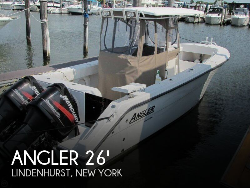 Angler 260 center console boat for sale in lindenhurst ny for Center console fishing boats for sale