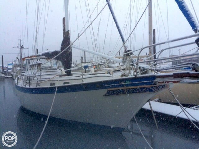 1978 Down East 38 Cutter - Photo #3