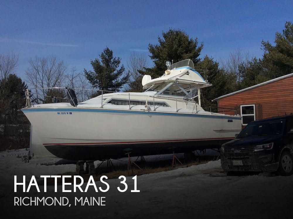 1971 Hatteras 31 Flybridge Cruiser