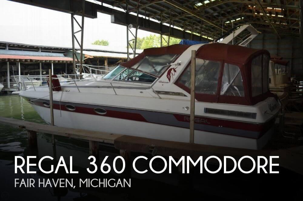 1990 Regal 360 Commodore - Photo #1