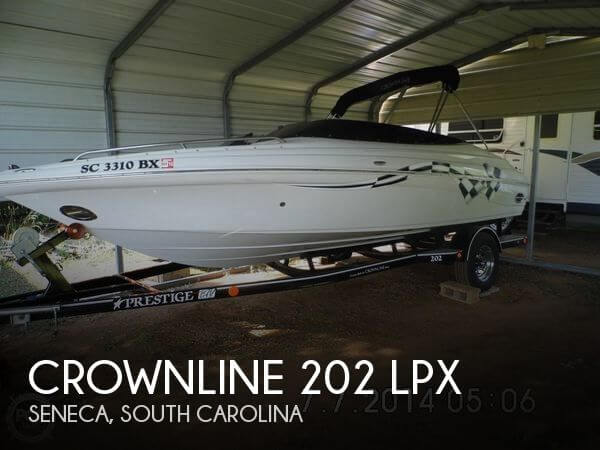 22 foot crownline 20 22 foot crownline motor boat in for Used boat motors for sale in sc