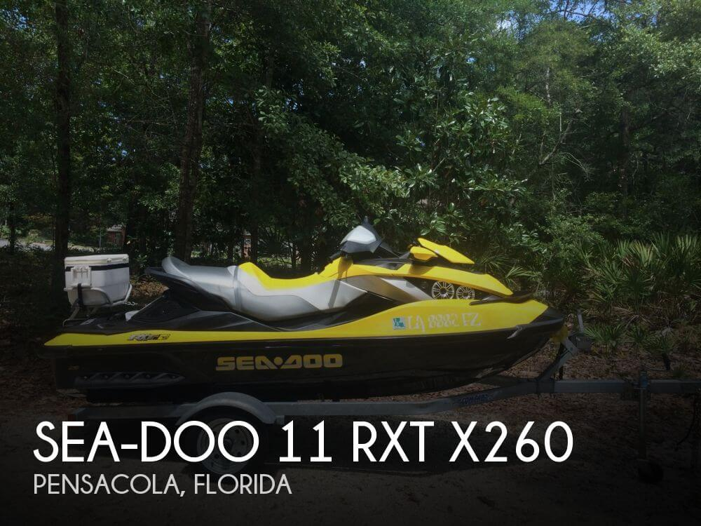 2010 SEA DOO PWC 11 RXT X260 for sale