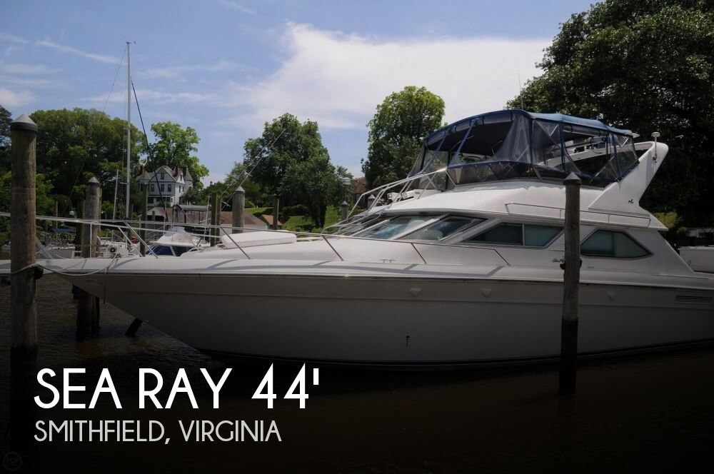 1995 SEA RAY 440 EXPRESS BRIDGE for sale