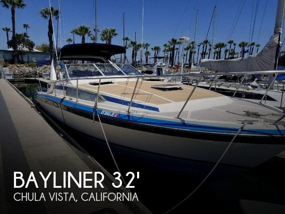 Used Bayliner 25 Boats For Sale by owner | 1986 Bayliner 3250 Sunbridge
